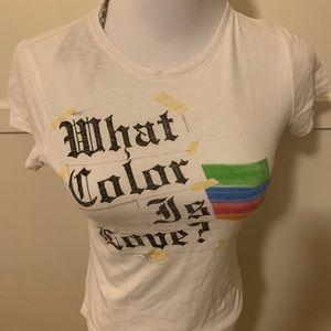 L.A.M.B. What Color is Love Tee